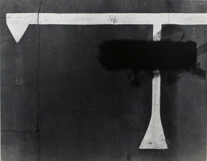 Nathan Lyons - Rochester (T-shape), 1961   Bruce Silverstein Gallery