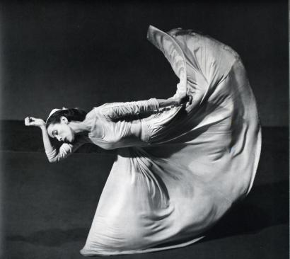 Barbara Morgan - Letter to the World (kick), Martha Graham, 1940 Gelatin silver print, printed c. 1940. ; Bruce Silverstein Gallery