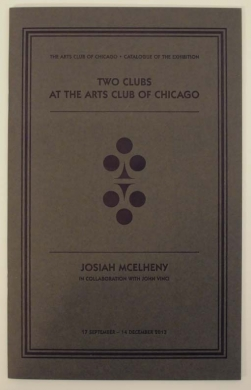 Two Clubs at the Arts Club of Chicago