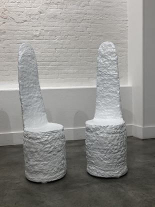 Sculptural Outdoor Chairs by Sean Gerstley