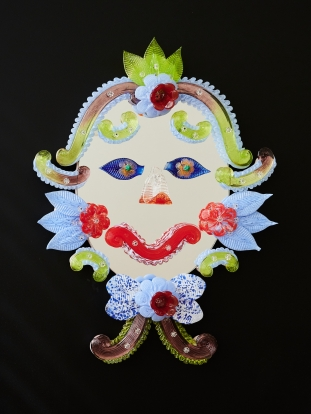 The Clown Lucia Massari Produced by Barbini Specchi Veneziani