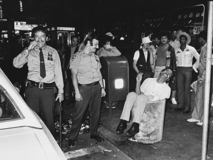 Jill Freedman, Street Cops