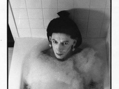 John Heys in bathtub by Don Herron