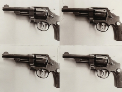 Christopher Makos, Smith And Wesson Pistol