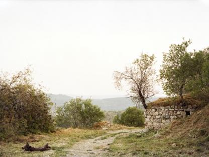 Palenstine Landscape by Sasha Bezzubov