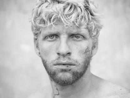 Blonde man by Michael Joseph