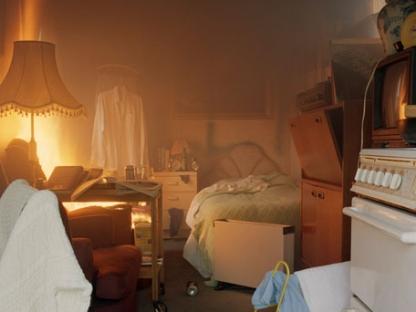 Kitchen fire by Sarah Pickering