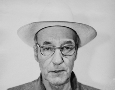William Burroughs by Jimmy DeSana