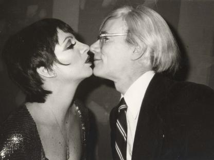 Christopher Makos, Andy Kissing Liza