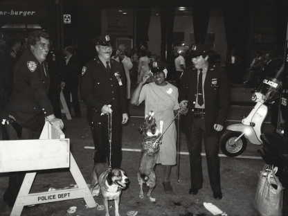 Jill Freedman's Close Up View Of New York City Police
