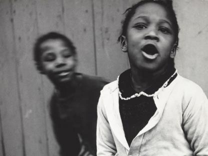 Two girls by Vivian Cherry