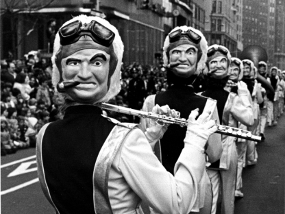 Marching band by Len Speier