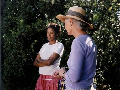 Women talking by Stuart O'Sullivan