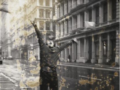 Man jumping by Gail Thacker