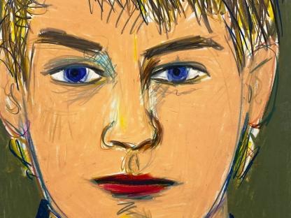 Larry Stanton, Self-Portrait