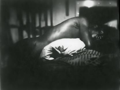 Man sleeping by Benjamin Fredrickson