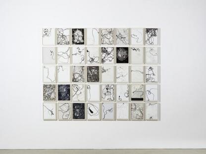 40 individual black and white prints