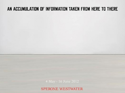 AN ACCUMULATION OF INFORMATION TAKEN FROM HERE TO THERE