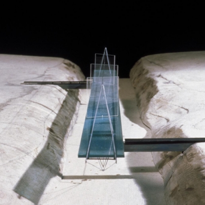LUMINOUS GLASS BRIDGE