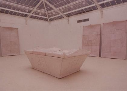 Tomb for Joseph Beuys, Galerie Yvon Lambert, Paris, 1988
