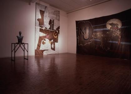 Blaffer Gallery, Houston, 1987