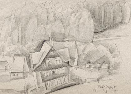 Lyonel Feininger in the Harz Mountains