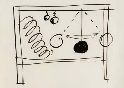 Master Drawings by Calder