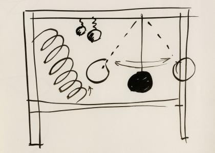 Master Drawings by Calder