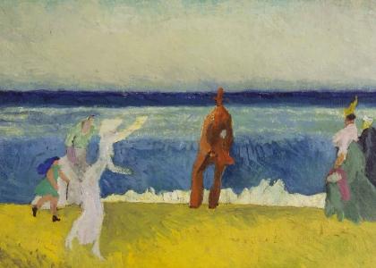 Notable Lyonel Feininger Paintings ofthe 1910s Sold by Moeller Fine Art