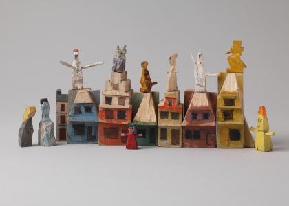 Handmade toys by Lyonel Feininger