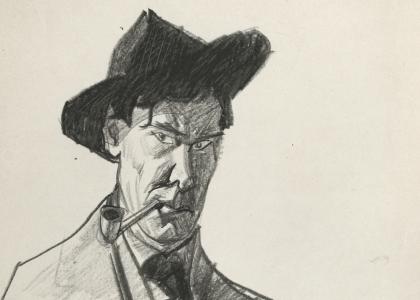 Lyonel Feininger: Self-Portraits and Portraits of Julia