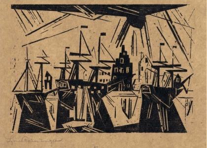 Lyonel Feininger: Bauhaus Master - Master Printmaker