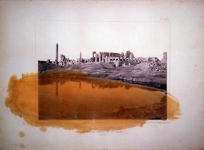Flaubert's Letters to His Mother (Ruines du Temple et Lac Sacre)