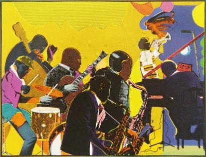 ROMARE BEARDEN Out Chorus 1978-1979