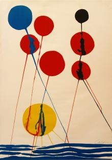 Alexander Calder, Balloons, 1973