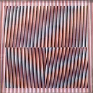 Carlos Cruz-Diez, Cromointerferencia, 1978
