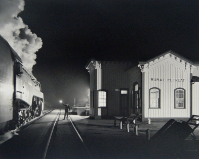 O. Winston Link, Birmingham Special at Rural Retreat, Virginia, 1957 (Printed 2000)
