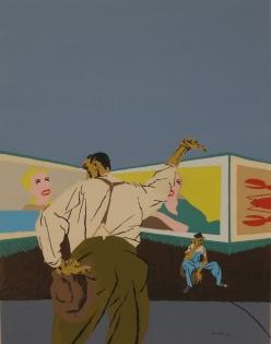 Robert Gwathmey, The Hitchhiker, 1937