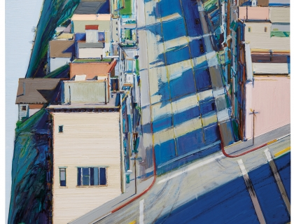 Wayne Thiebaud, Ripley Ridge, 1977