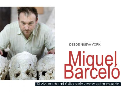 """Photograph of """"Miquel Barcelo"""""""