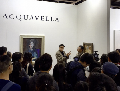 Acquavella booth Art Basel Hong Kong (Picasso)