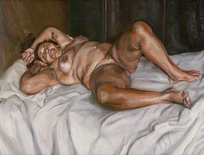 Lucian Freud, Naked Solicitor, 2003