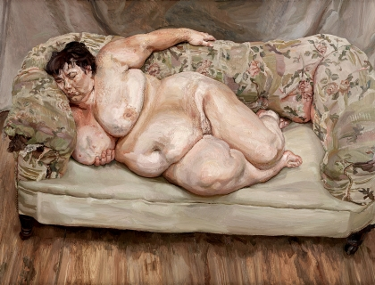 Lucian Freud, Benefits Supervisor Sleeping, 1995