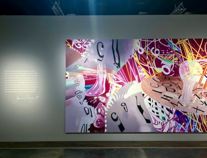 Art Basel Miami Beach Rosenquist installation