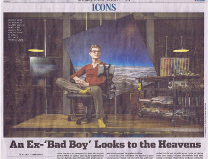 """Photograph of """"An Ex-'Bad Boy' Looks to the Heavens"""""""