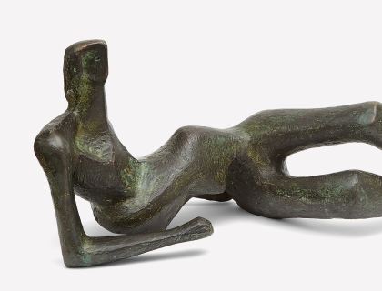 Henry Moore, Reclining Figure No. 2, 1953