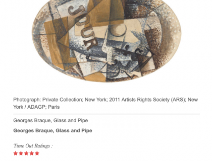 """Photograph of """"Review: 'Georges Braque: Pioneer of Modernism'"""""""