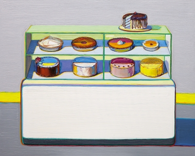 Wayne Thiebaud, Cold Case, 2010/2011/2013