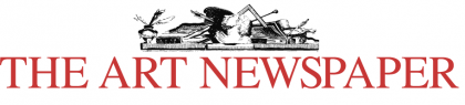 Photograph of The Art Newspaper logo
