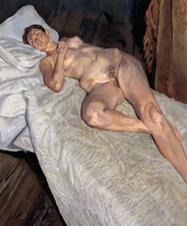 Lucian Freud, Naked Portrait, 2004